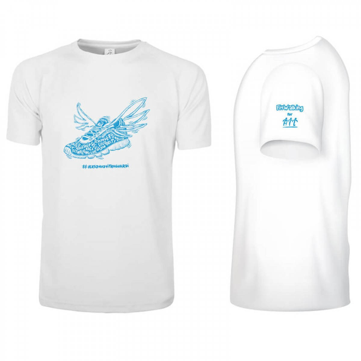 T-Shirt Tecnica Fitwalking for AIL