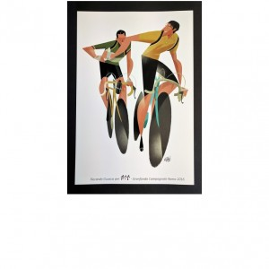 Poster 30x45 - Ciclista Solidale